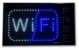 Светодиодная табличка «Wi-Fi» (СТ038)
