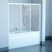 Шторка для ванны Ravak AVDP3-120 белый+транспарент