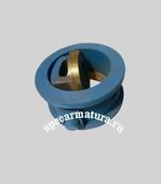 Клапан обратный поворотный межфланцевый 19ч21бр Ду50