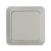 Выключатель 1кл BOLLETO белый накладной 7021