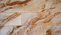 Гибкий камень Сити-ЛАД Плюс Песчаник 250x63 мм (клинкер)
