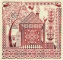 """Набор для вышивания крестом Panna """"Оберег домашнего очага"""", 30 x 30 см"""