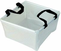 Складной таз AceCamp «Transparent Folding Basin» 10 л, прозрачный, размер: 10 л