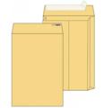 Крафт конверт E4 (300*400), стрип-лента, клапан прямой, боковое расширение (LargePack). Конверты - в упаковке 200 шт.