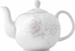 Заварочный чайник, 1220 мл, костяной фарфор, Peonies, Esprado, PEOL13PE306