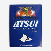 Трансферная термобумага Atsui 3-layered sheets 20 листов