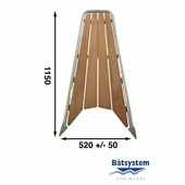 Бушприт-площадка Batsystem GPT100 1150 x 520 мм