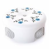 Распределительная коробка d 90mm декор №2 33518 (Lindas)