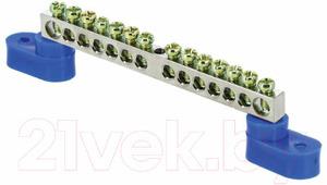 Шина нулевая EKF PROxima 63.14 с 2 изоляторами