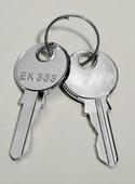 Замки и ключи Ключ для замка с двойной бороздкой 5мм Schneider Electric