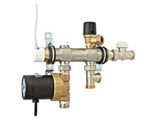 Смесительный узел TMix-XS, без электрического нагревателя (АРТ. 51004)