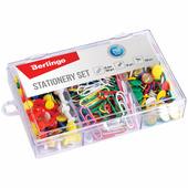 Набор мелкоофисных принадлежностей, 250 предметов, пластиковая упаковка BERLINGO Mcn_25006