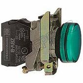 Лампы, кнопки, звонки, переключатели Лампа зелёная со встроенным светодиодом в сборе 220В Schneider Electric