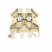 Клеммные соединения PEK2,5 Клеммник на DIN-рейку 2,5 мм.кв. (бежевый) Klemsan
