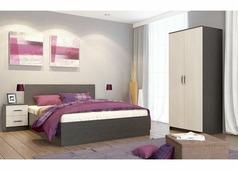 Спальня Ронда-1 (венге/беленый дуб)