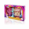 """DollyToy Набор мебели для кукол """"Спальня принцессы"""" (спальня, гардеробная, аксессуары., свет)"""