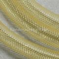 Шнур (жгут) Пластиковый, Пустой внутри, 4 мм, (Ювелирная сетка), Золотистый