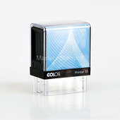 Оснастка для штампа Colop Printer 10 чёрно-голубая