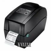 """Принтер этикеток Godex RT230, термо/термотрансферный принтер, 300 dpi, 4 ips, ширина 2.12"""", (полдюймовая втулка риббона), и/ф USB+RS232+Ethernet"""