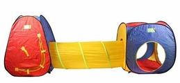 Палатка игровая с переходом 3 в 1 арт. 5015