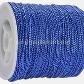 Шнур Декоративный, 1 мм, Металлизированный, Синий, 1 м