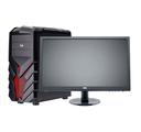 Компьютер игровой с монитором 24 на базе процессора AMD A8-9600, системный блок №372519, доступен в кредит