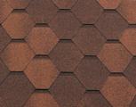 Гибкая битумная черепица RoofShield Стандарт Classic Капучино