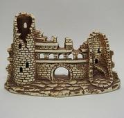 Декорации из светлой керамики Декорация из светлой керамики Старая крепость, 23,5*13,5см