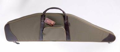 Мягкий чехол из синтетической ткани с кожаной отделкой для винтовки с ночн прицелом VEKTOR «К-601», длина 118 см,