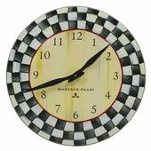 Часы настенные Courtly Check 89801-40 от MacKenzie-Childs