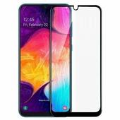 Ainy Защитное стекло для Samsung Galaxy A20 с полной проклейкой, цвет чёрный