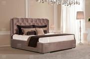 Кровать Vegas Адель 200x200, экокожа, п/м основания
