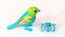 Поющая птичка робот DigiBirds (синяя)