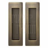Ручка для раздвижных дверей Armadillo SH010 URB бронза