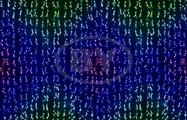 Светодиодная занавес Neon-night 3.2*3 м 4*8 нитей RGB