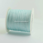 Шнур 0,5 мм, Нейлон, Голубой мятный