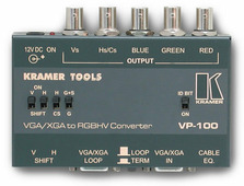 Kramer VP-100 Преобразователь VGA в RGBHV / RGsB / RGBS