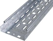 Лоток металлический перфорированный 150x50мм L=3м