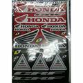Наклейки LP Honda Red