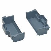 Изоляционная коробка для монтажа напольной коробки в фальшпол стандартное исполнение 2X4 модуля. Цвет Серый. Legrand (Легранд). 088026