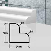 Бордюр для ванной БК 24 60 см