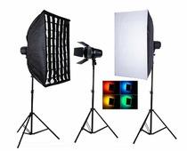 Nicefoto M650 комплект студийного света