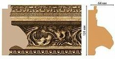 Декоративный багет для стен Декомастер Ренессанс 947-566