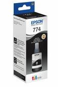 Оригинальные чернила EPSON 774 (C13T77414A) для M100, M105, M200, M205, 140 мл, черные