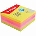 Самоклеящийся блок 76*76 мм, 400 л, 5 неоновых цветов BERLINGO LSb_76505