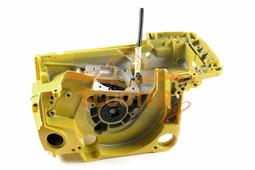 Картер комплект для бензопилы CHAMPION 250 нового образца (желтый)