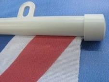 Пластиковый держатель плакатов А1 594 мм Белый