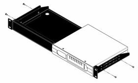 BSS RACK MOUNT KIT рэковое крепление для установки в стандартный рэк полурэковых BLU-BIB или BLU-BOB. Подходит для 1 или 2 приборов одновременно