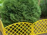 Заборчик декоративный №1 Romanika 2,95м высота 33см (7 эл.) желтый