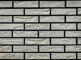 Декоративный искусственный камень РокСтоун Кирпич декоративный гипсовый 1600 ГП, Белый